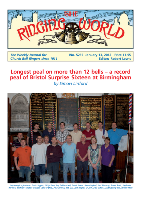 The Ringing World issue 5255