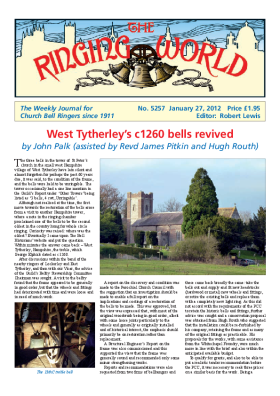 The Ringing World issue 5257
