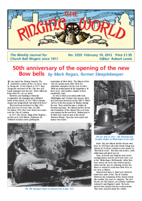 The Ringing World issue 5259