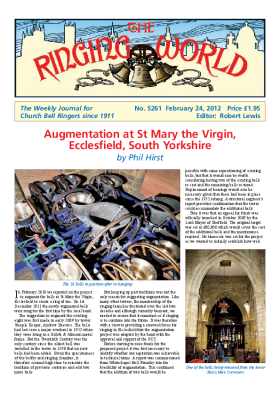 The Ringing World issue 5261