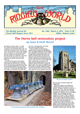 The Ringing World issue 5262