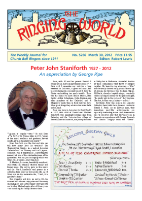 The Ringing World issue 5266