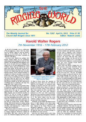 The Ringing World issue 5267