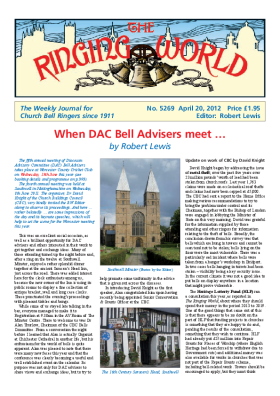 The Ringing World issue 5269