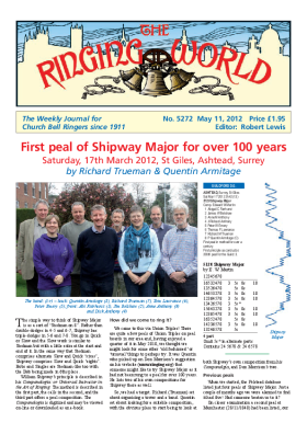 The Ringing World issue 5272