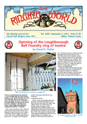 The Ringing World issue 5289