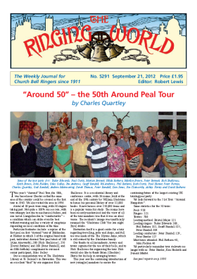 The Ringing World issue 5291