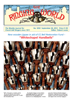 The Ringing World issue 5292