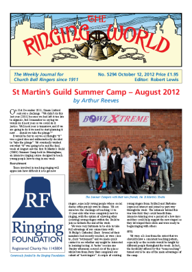 The Ringing World issue 5294