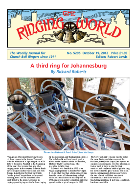 The Ringing World issue 5295