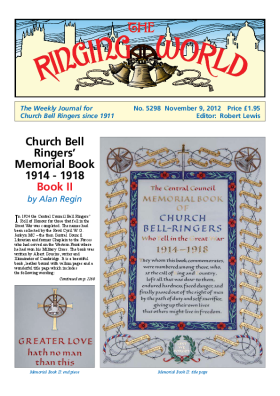 The Ringing World issue 5298