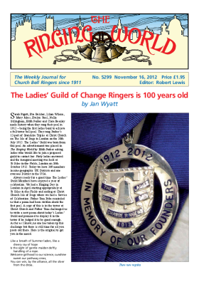 The Ringing World issue 5299