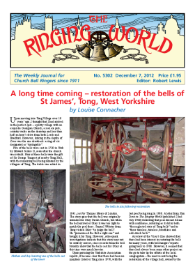 The Ringing World issue 5302