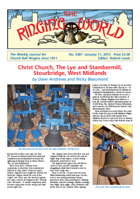 The Ringing World issue 5307