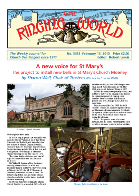 The Ringing World issue 5312