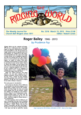 The Ringing World issue 5316
