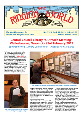 The Ringing World issue 5320