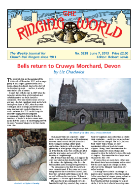 The Ringing World issue 5328