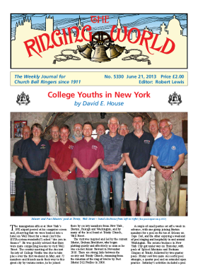 The Ringing World issue 5330