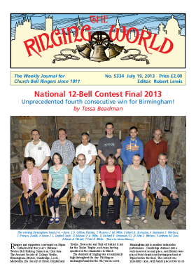 The Ringing World issue 5334