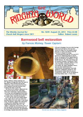 The Ringing World issue 5339