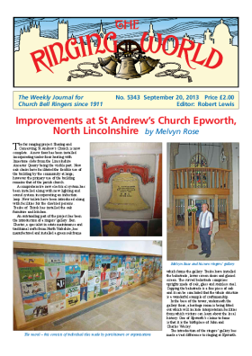 The Ringing World issue 5343