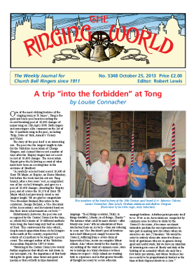 The Ringing World issue 5348