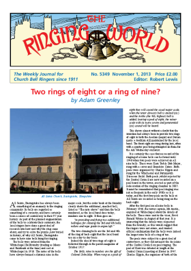 The Ringing World issue 5349