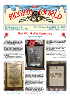 The Ringing World issue 5350