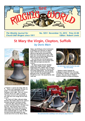 The Ringing World issue 5351