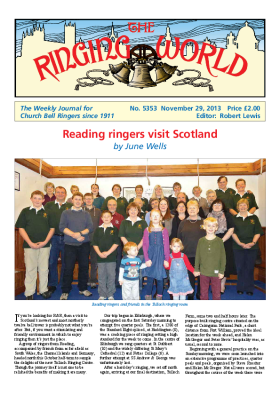 The Ringing World issue 5353