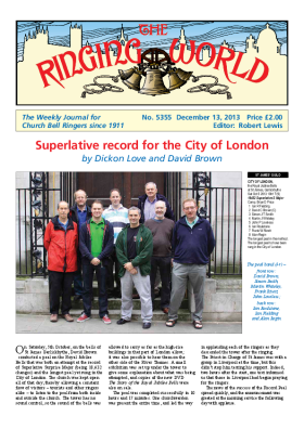The Ringing World issue 5355