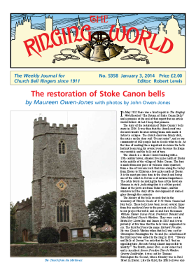 The Ringing World issue 5358