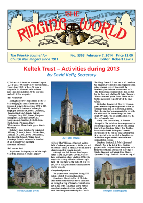 The Ringing World issue 5363