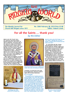 The Ringing World issue 5366