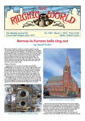The Ringing World issue 5367