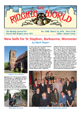 The Ringing World issue 5368