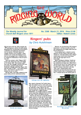 The Ringing World issue 5369
