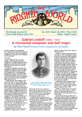 The Ringing World issue 5370