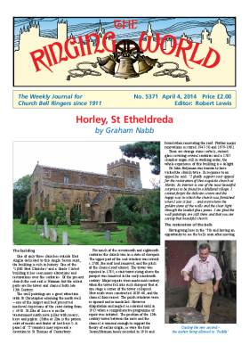 The Ringing World issue 5371