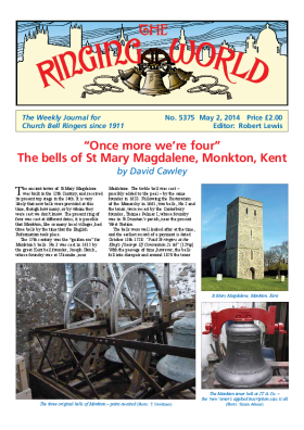 The Ringing World issue 5375