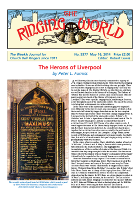The Ringing World issue 5377