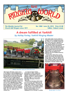 The Ringing World issue 5382