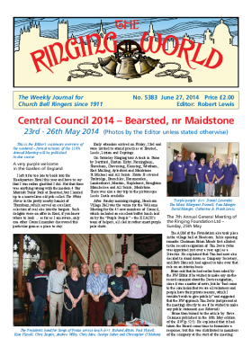 The Ringing World issue 5383