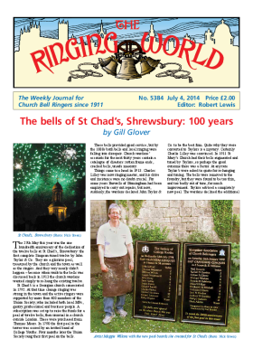 The Ringing World issue 5384