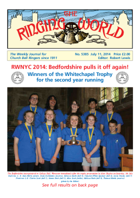The Ringing World issue 5385