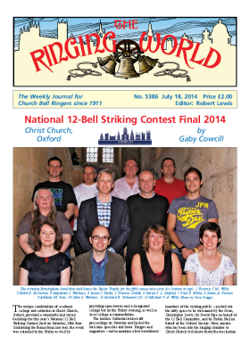The Ringing World issue 5386
