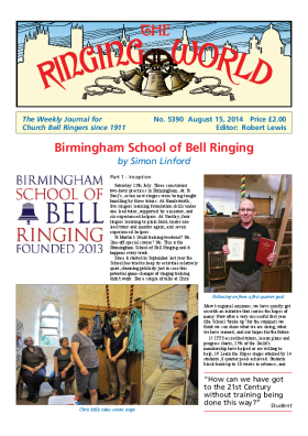 The Ringing World issue 5390