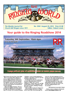 The Ringing World issue 5392