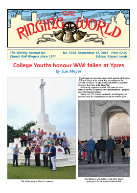 The Ringing World issue 5394